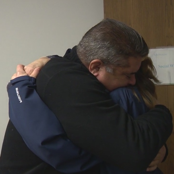 A heartfelt emotional connection for Guilford man and organ donor