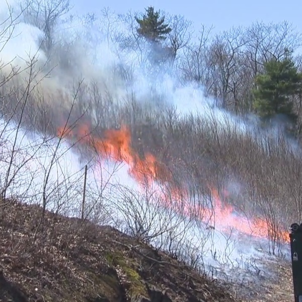 April brings brush fire dangers