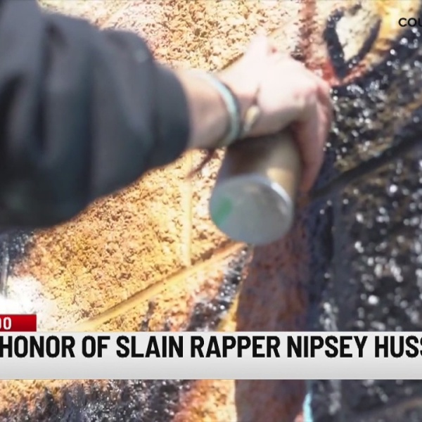Connecticut artist creates mural to honor late rapper