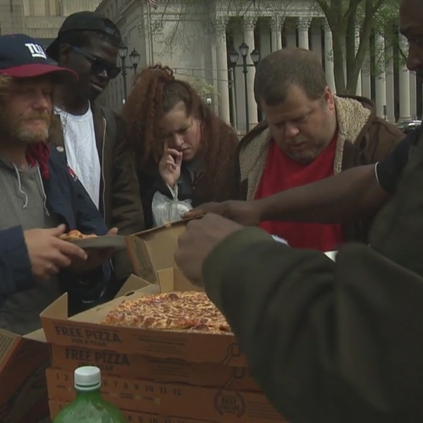 Homeless helped on New Haven Green