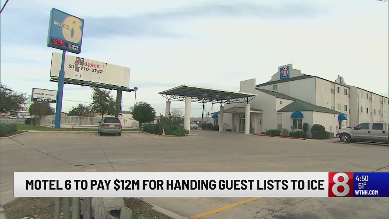 Motel 6 will pay $12 million to settle lawsuit after sharing guest info with ICE