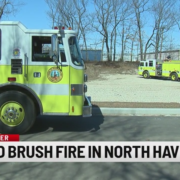 Several brush fires reported in CT on Thursday