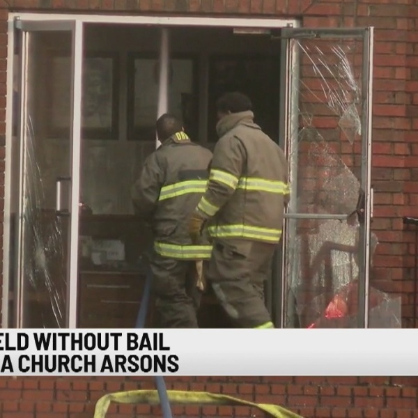 Suspect arrested over suspicious fires at historically black churches in Louisiana