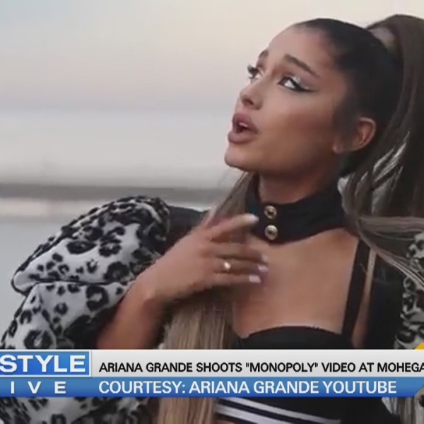 Today's Dish: Ariana Grande shoots 'Monopoly' video at Mohegan Sun