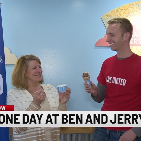 Tuesday is 'Free Cone Day' at Ben and Jerry's!