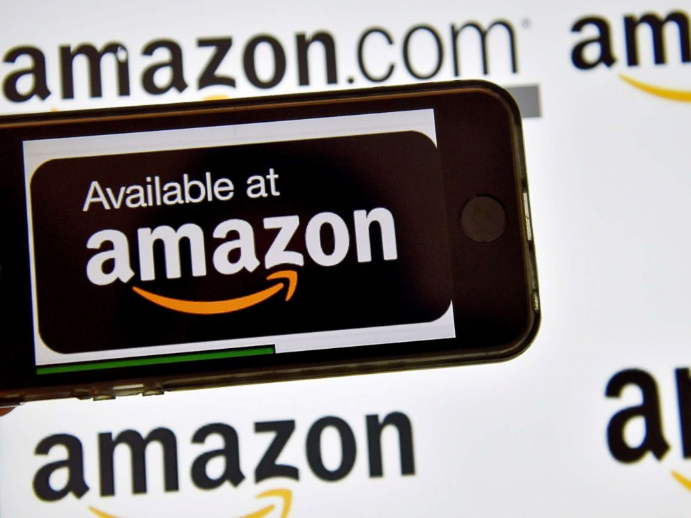 PHOTO_ The Amazon logo is pictured in this file photo, Dec. 28, 2016._6316729000531