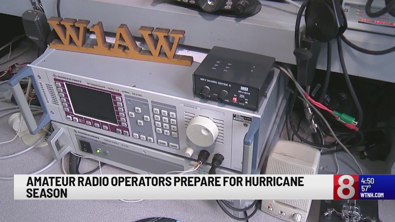 Amateur radio operators prepare for hurricane season