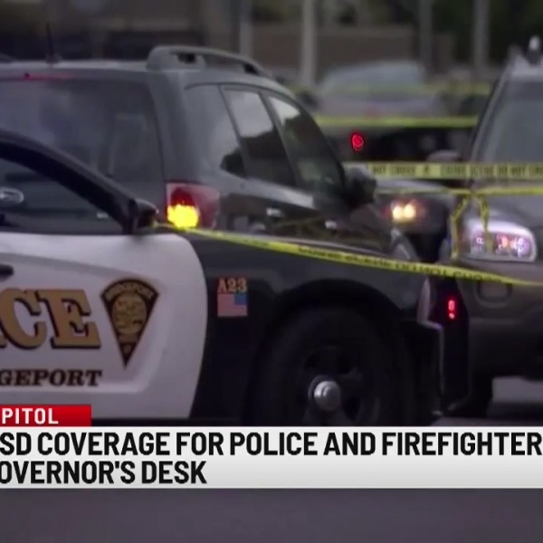 Bill for PTSD coverage for police and firefighters move to Governor's desk