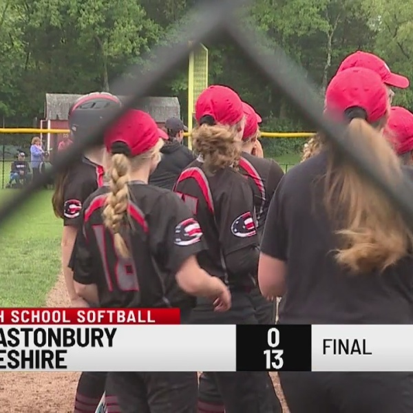 Cheshire defeats Glastonbury in Class LL softball tournament