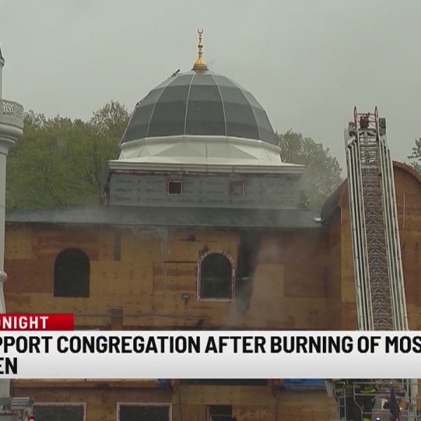 Community coming together following arson at New Haven mosque