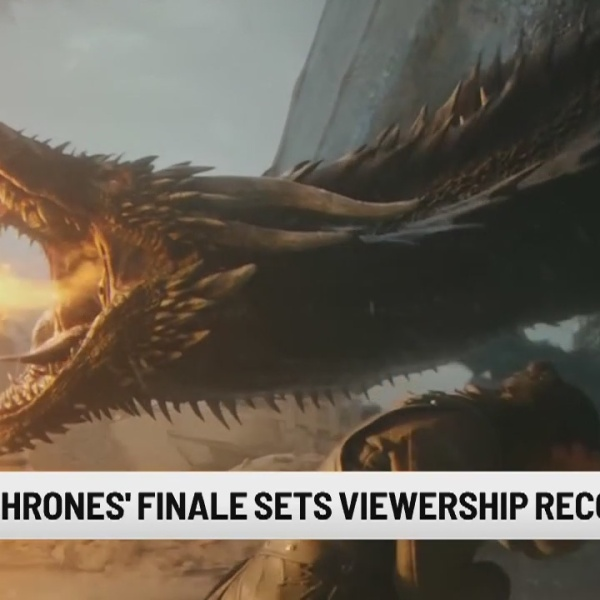 'Game of Thrones' sets viewership record for finale