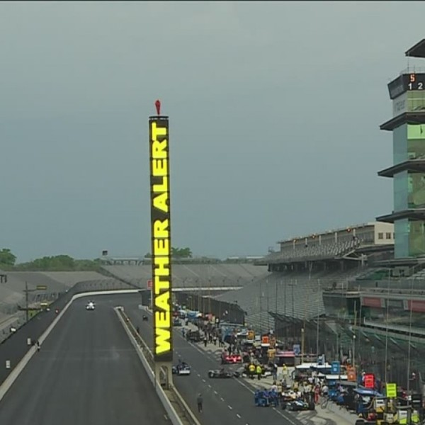 How the Indianapolis Motor Speedway prepares for race day storms
