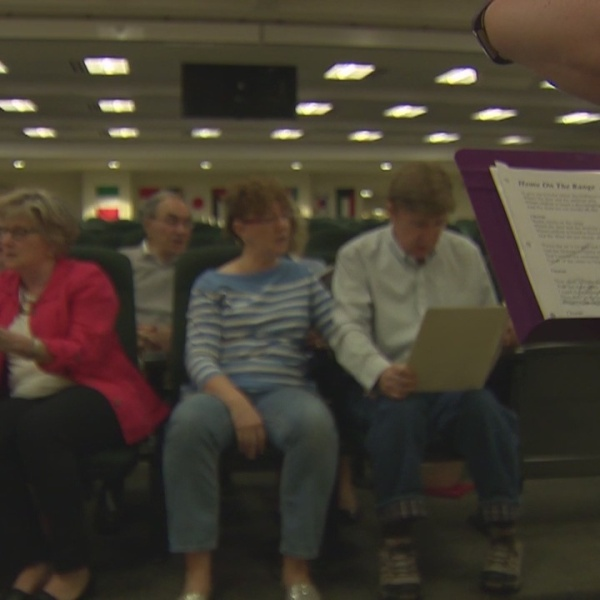 Local choir helps Alzheimer's patients and their families through the power of song