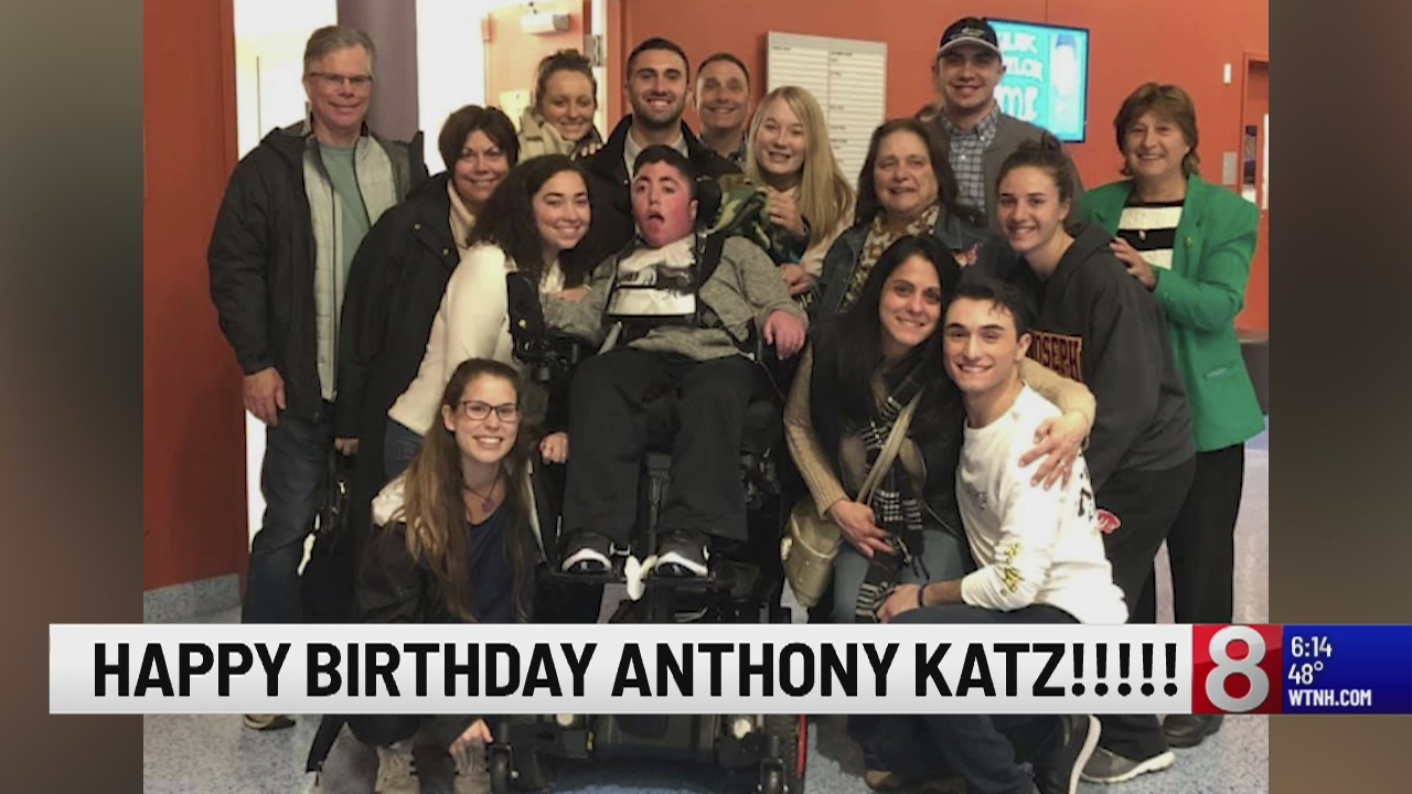 Man who wasn't expected to live past 1 celebrates 18th birthday