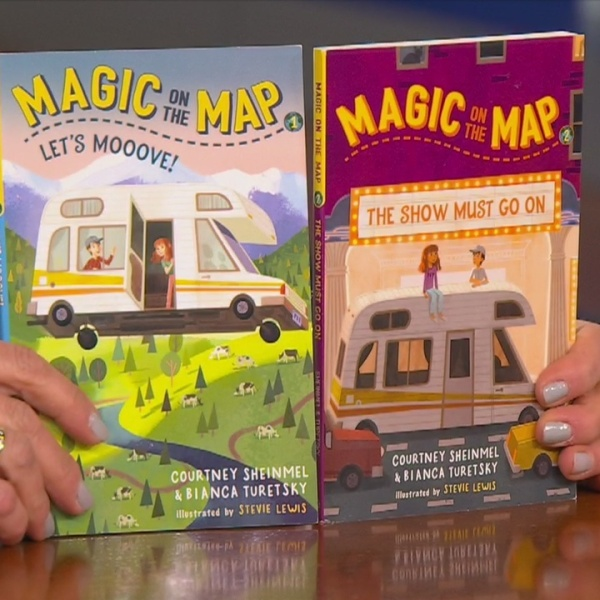 Nyberg: Co-Author of 'Magic on the Map' children's book series