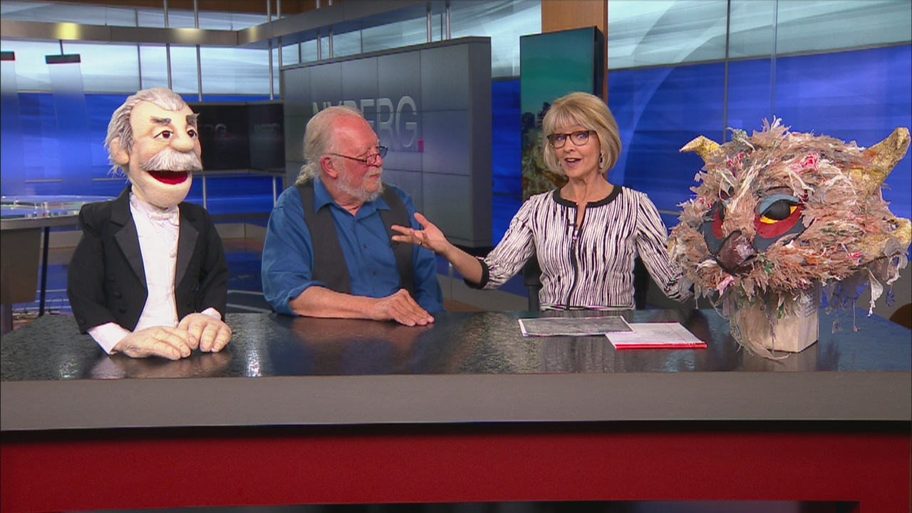 Nyberg: Director, professor explains life in puppetry