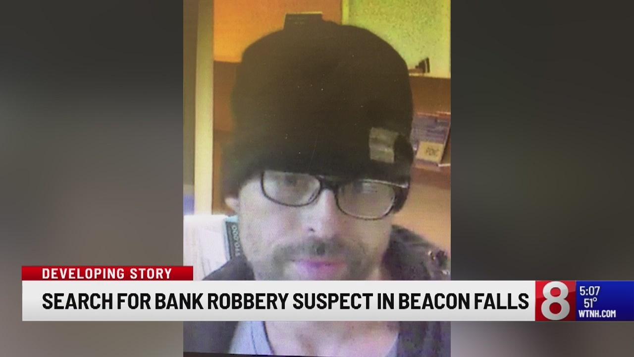 Police presence outside of Beacon Falls bank