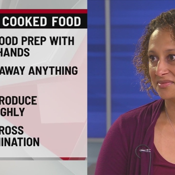 Safety tips for preparing and grilling food