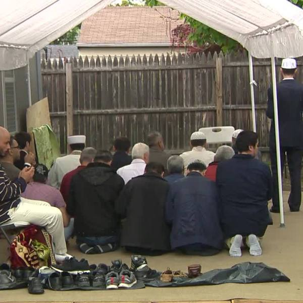 Senator Blumenthal meets with local officials following mosque arson in New Haven