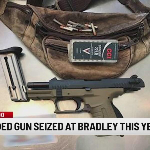 TSA: Florida man's gun found at Bradley security checkpoint