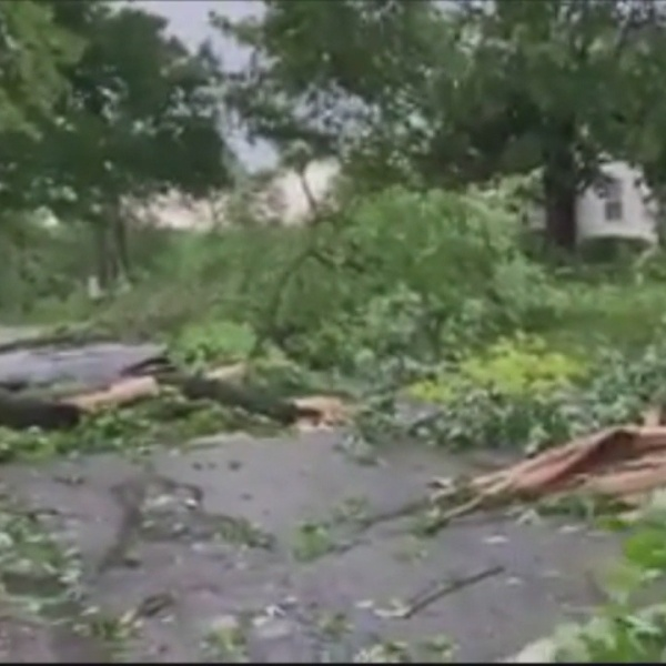 The Latest: More than 5 million people without power in Ohio