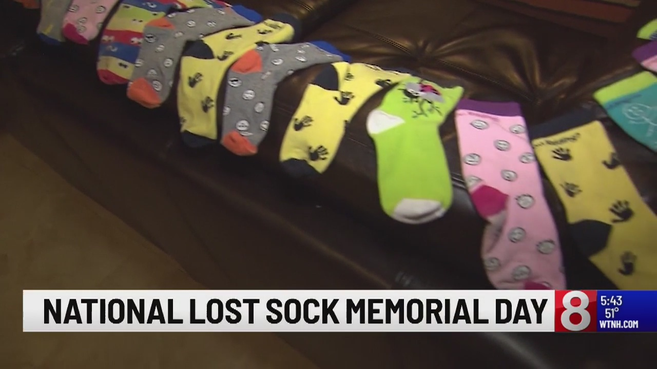 Thursday Is National Lost Sock Memorial Day