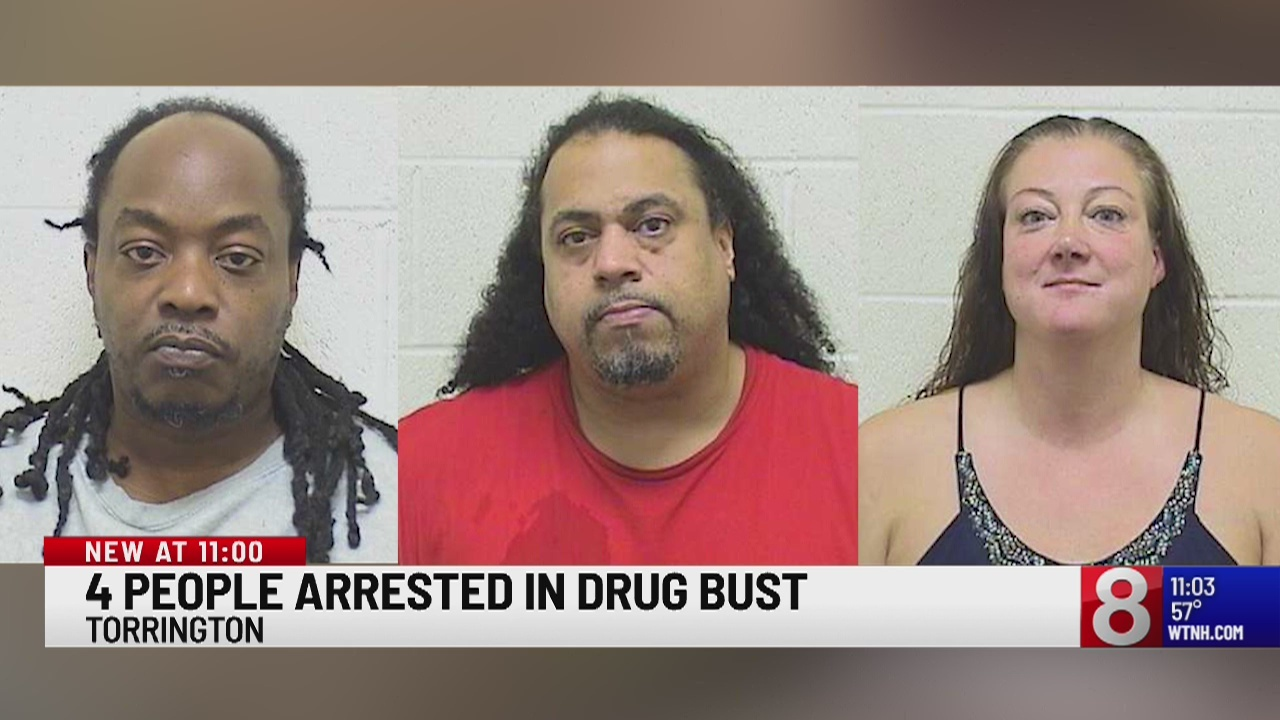 Drug Bust In North Texas