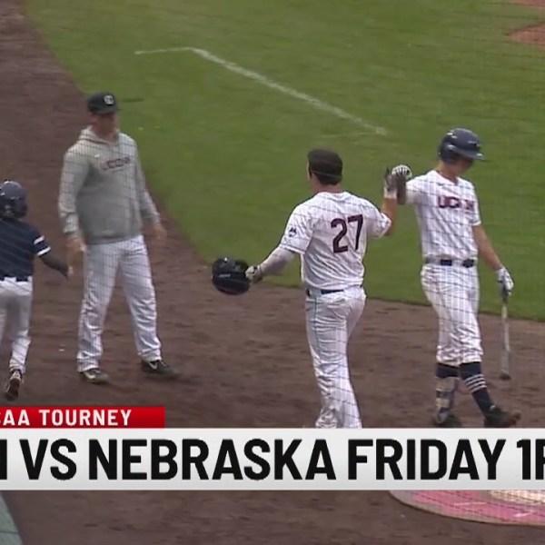 UConn baseball to take on Nebraska in Oklahoma City Regional