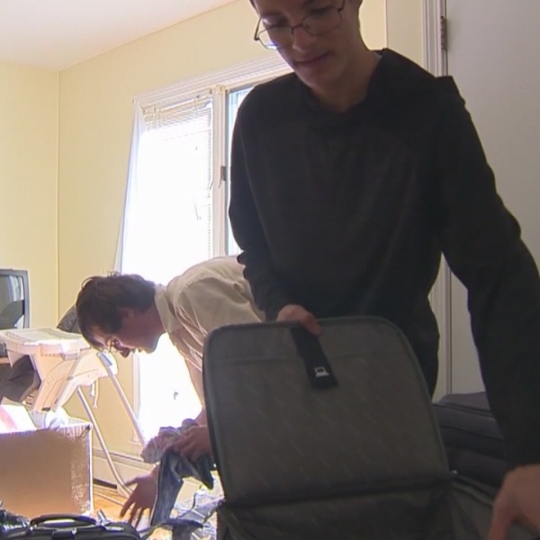 West Hartford teen collects gently-used luggage for foster kids who move around