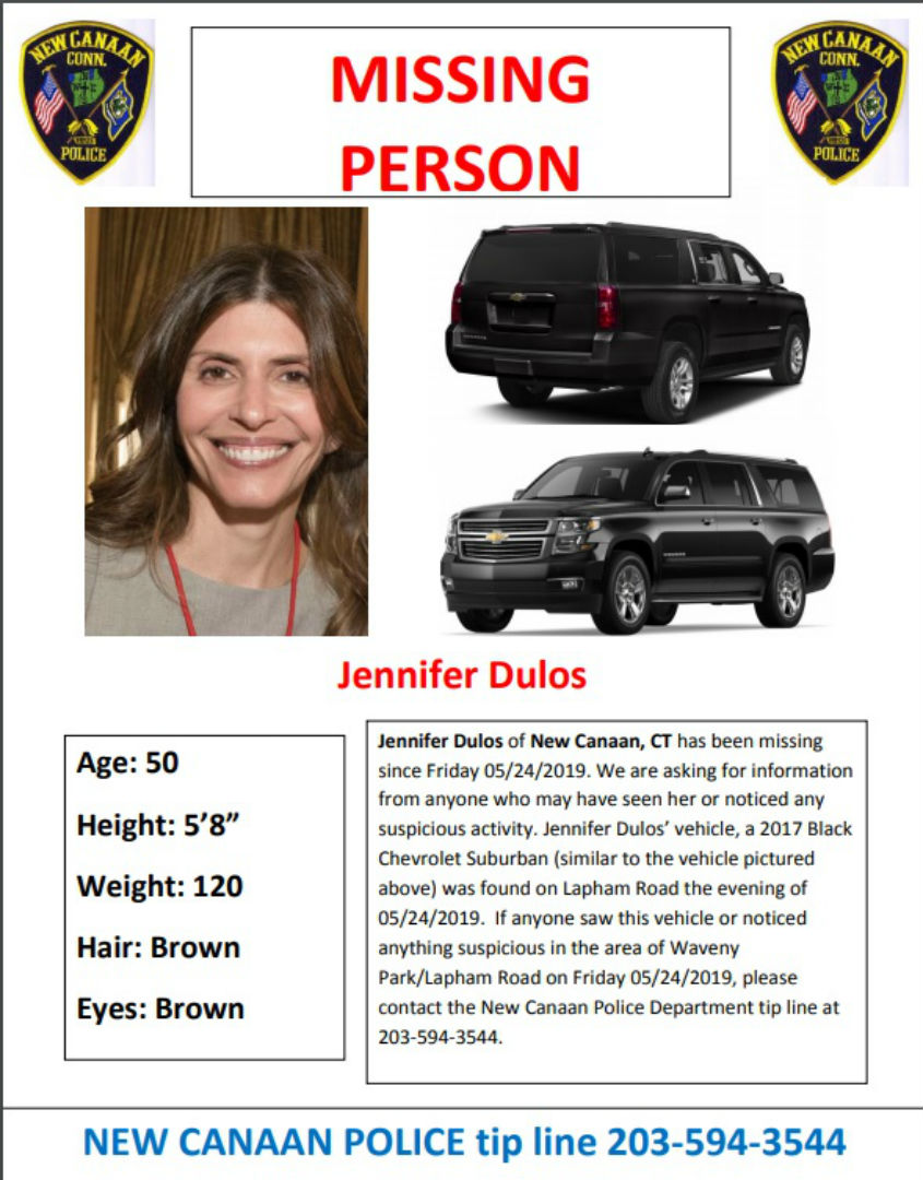 WEB EXTRA: Search for missing New Canaan mother continues; family waits for answers