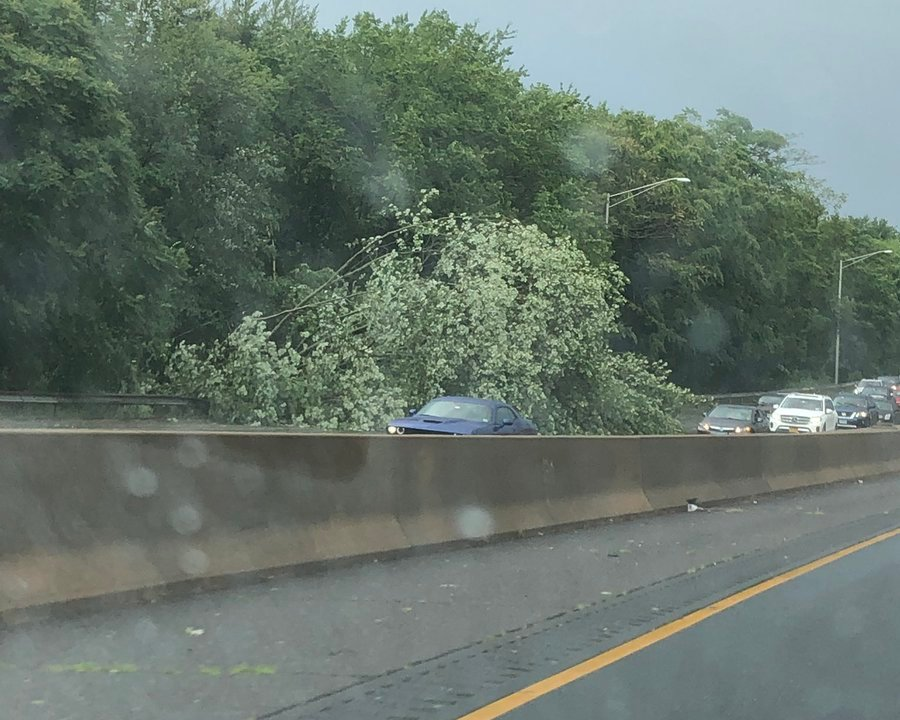 Round 2: Storms cause damage across southern Connecticut Sunday