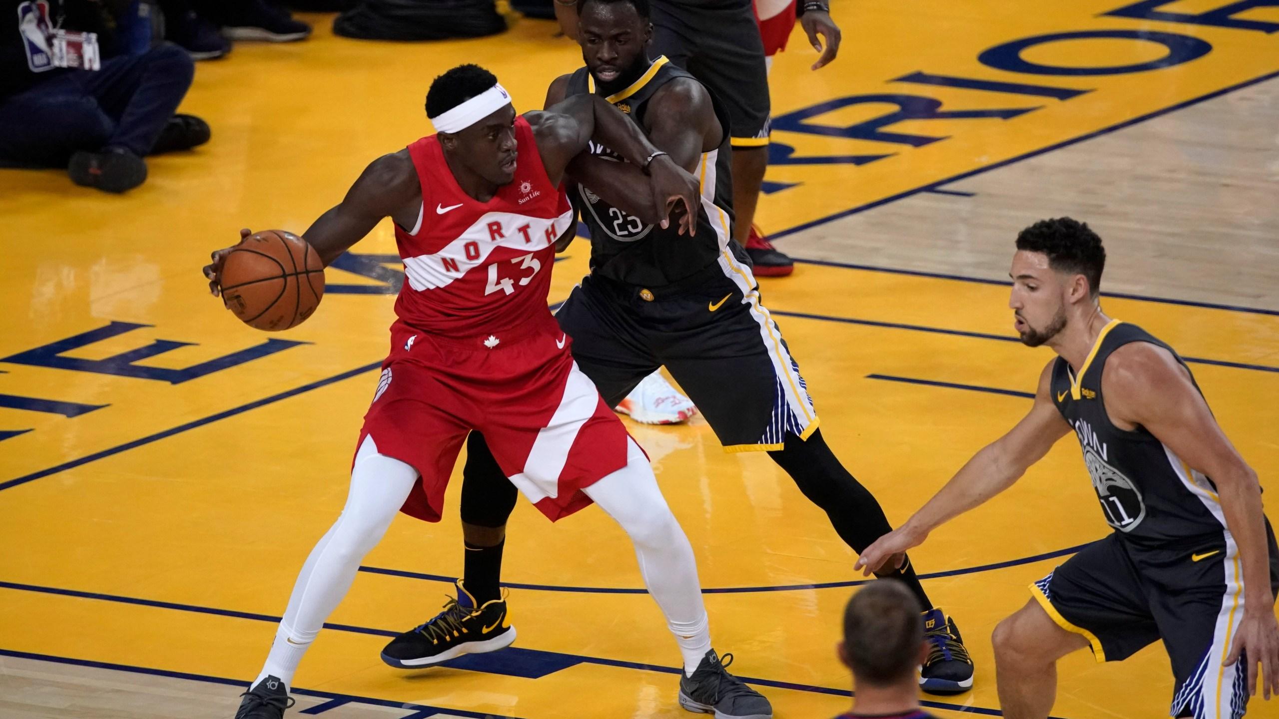 APTOPIX NBA Finals Raptors Warriors Basketball_1560484722576