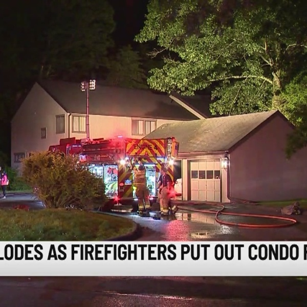 Ammo explodes as firefighters put out Woodbury condo fire