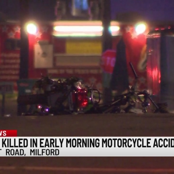 Authorities investigate fatal motorcycle accident on Boston Post Road in Milford