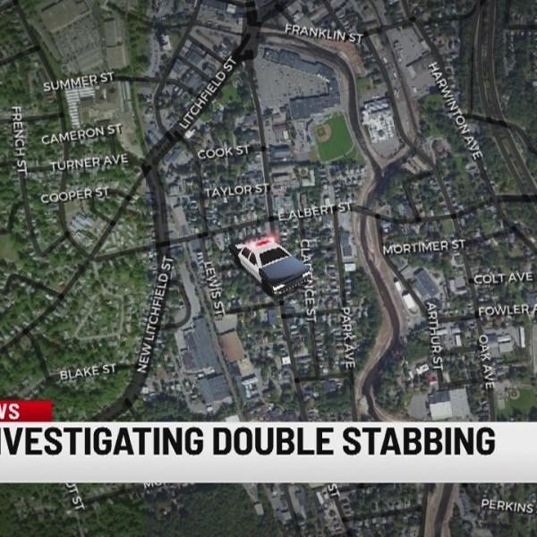 Authorities respond to late-night double stabbing in Torrington