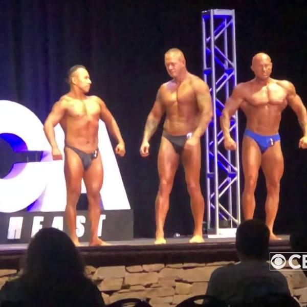 Bodybuilder competition benefits veterans