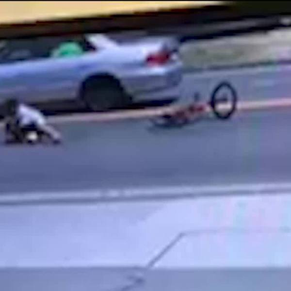 Exclusive: Car hits boy riding bike in New Haven