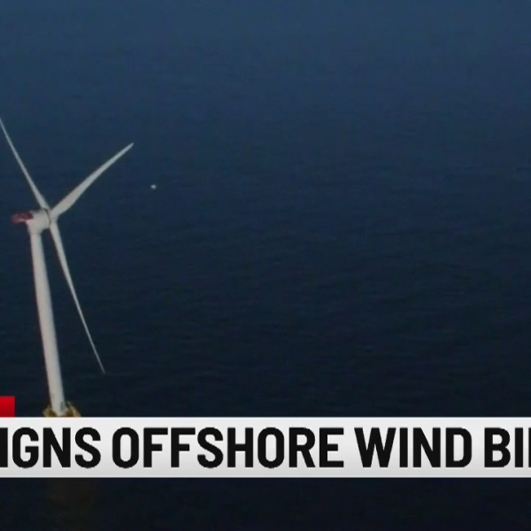 Governor Lamont signs offshore wind bill