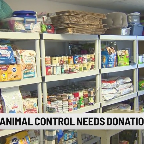 Milford Animal Control needs donations for Pet Food Bank