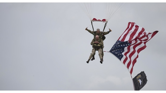 France D-Day Parachuting Over Normandy_1559824114975