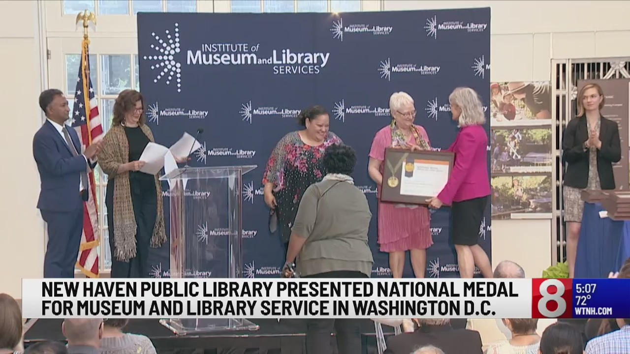 New Haven Free Public Library honored with national medal