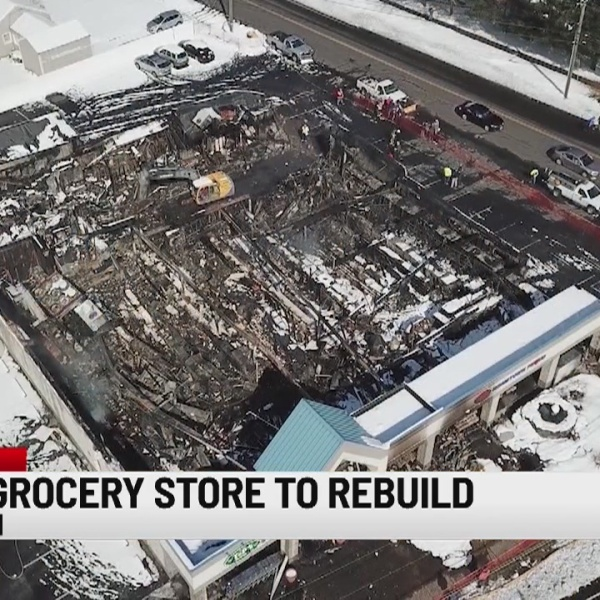 Southington grocery store destroyed by fire to be rebuilt