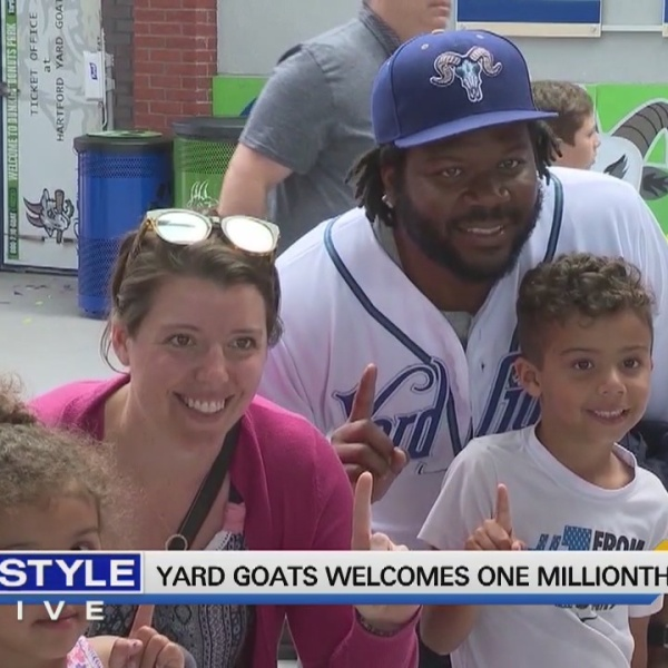 Today's Dish: Yard Goats welcomes one millionth fan