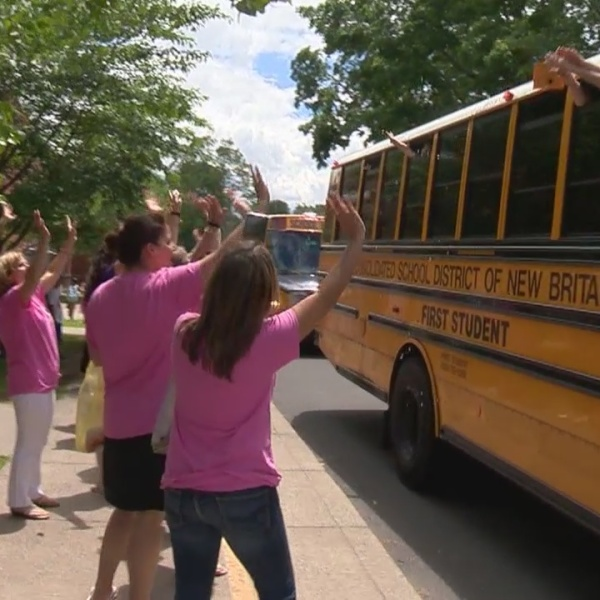 What's Right with Schools: New Britain 5th graders graduate in style