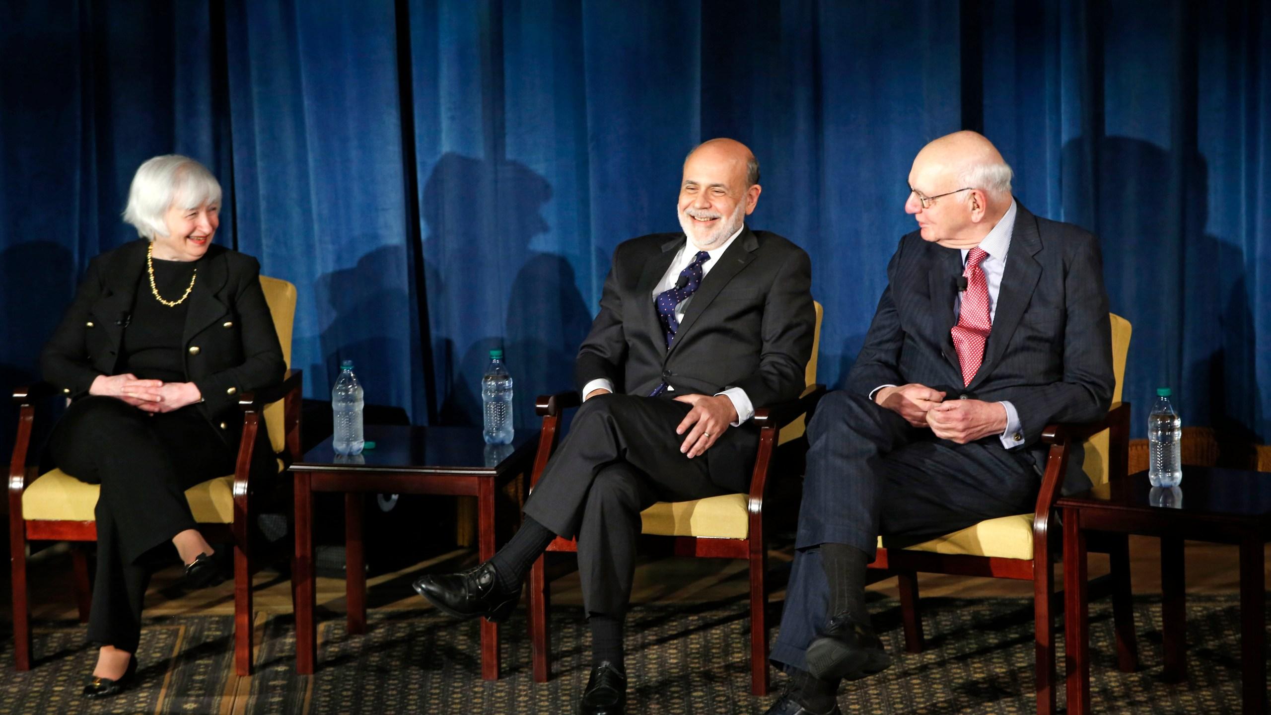 Janet Yellen, Ben Bernanke, Paul Volcker