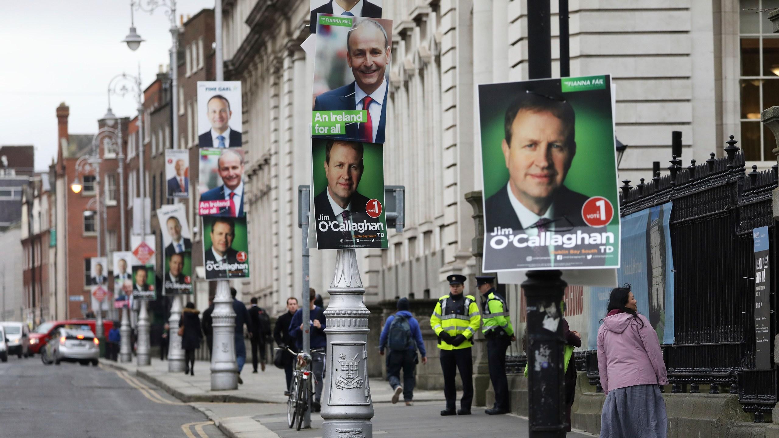 Top 3 parties in dead heat after Irish parliament elections | WTNH.com