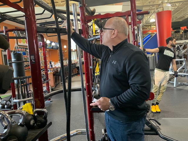 "At In Shape Fitness in Branford there's a steady stream of members but fears are still surrounding the spread of Coronavirus. Kimmy Leaf said, ""I never really thought of it before now I am aware of that."" Gyms are stepping up cleaning measures."