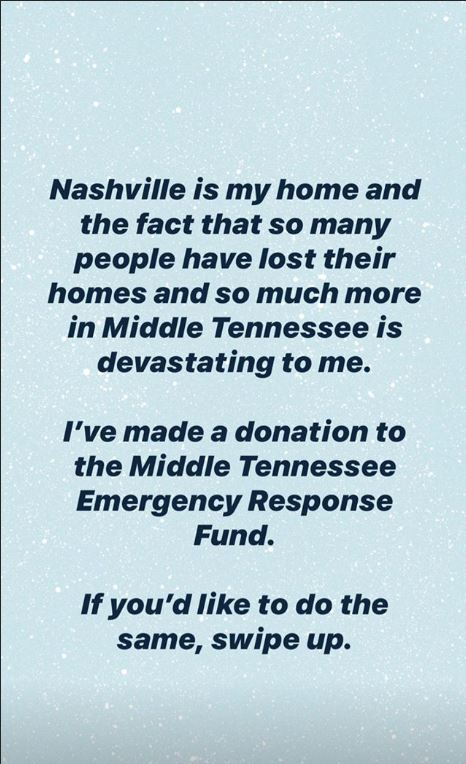 Taylor Swift donates $1 million to the Middle Tennessee ...
