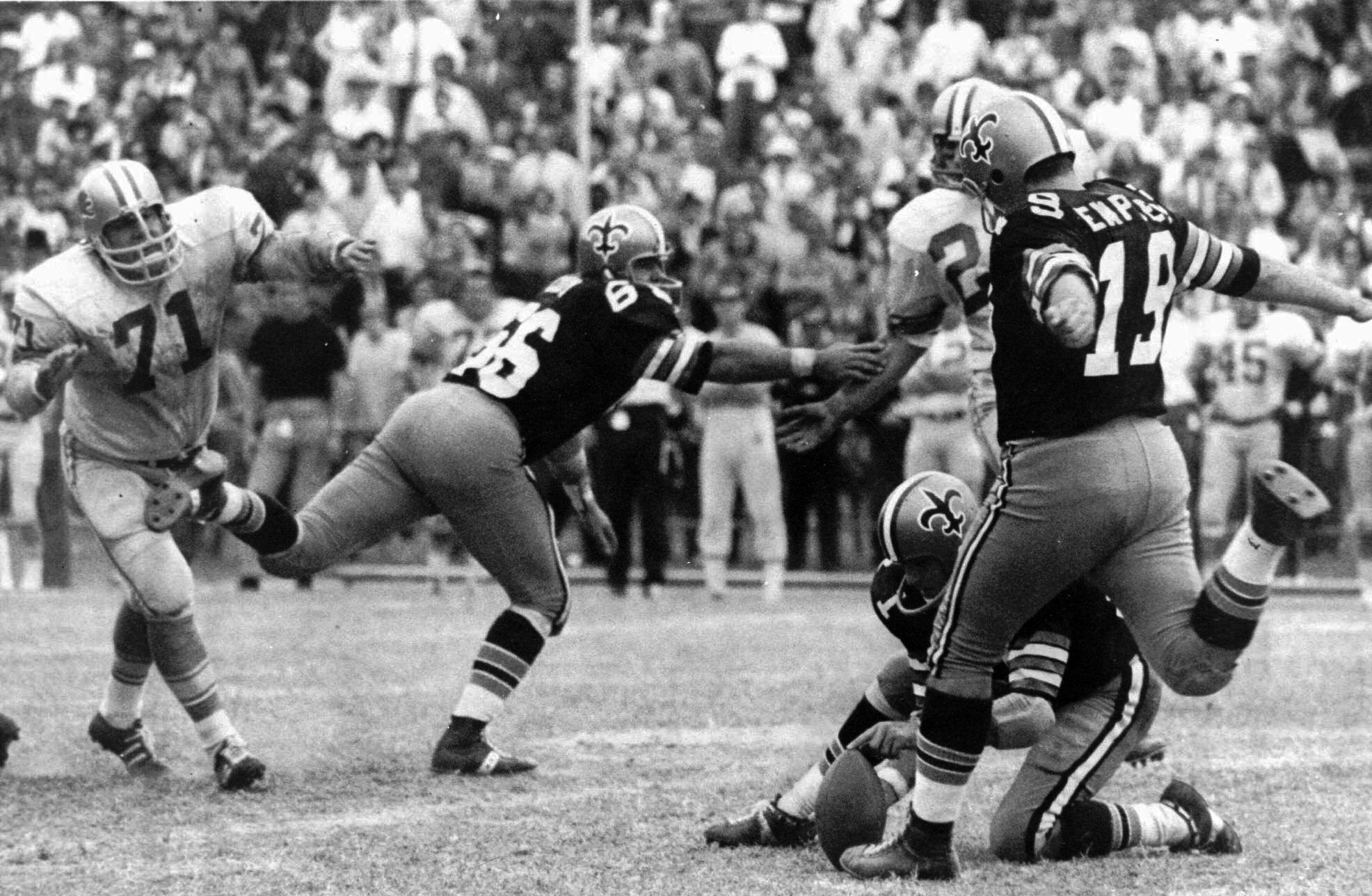 Tom Dempsey, Alex Karras, Bill Cody