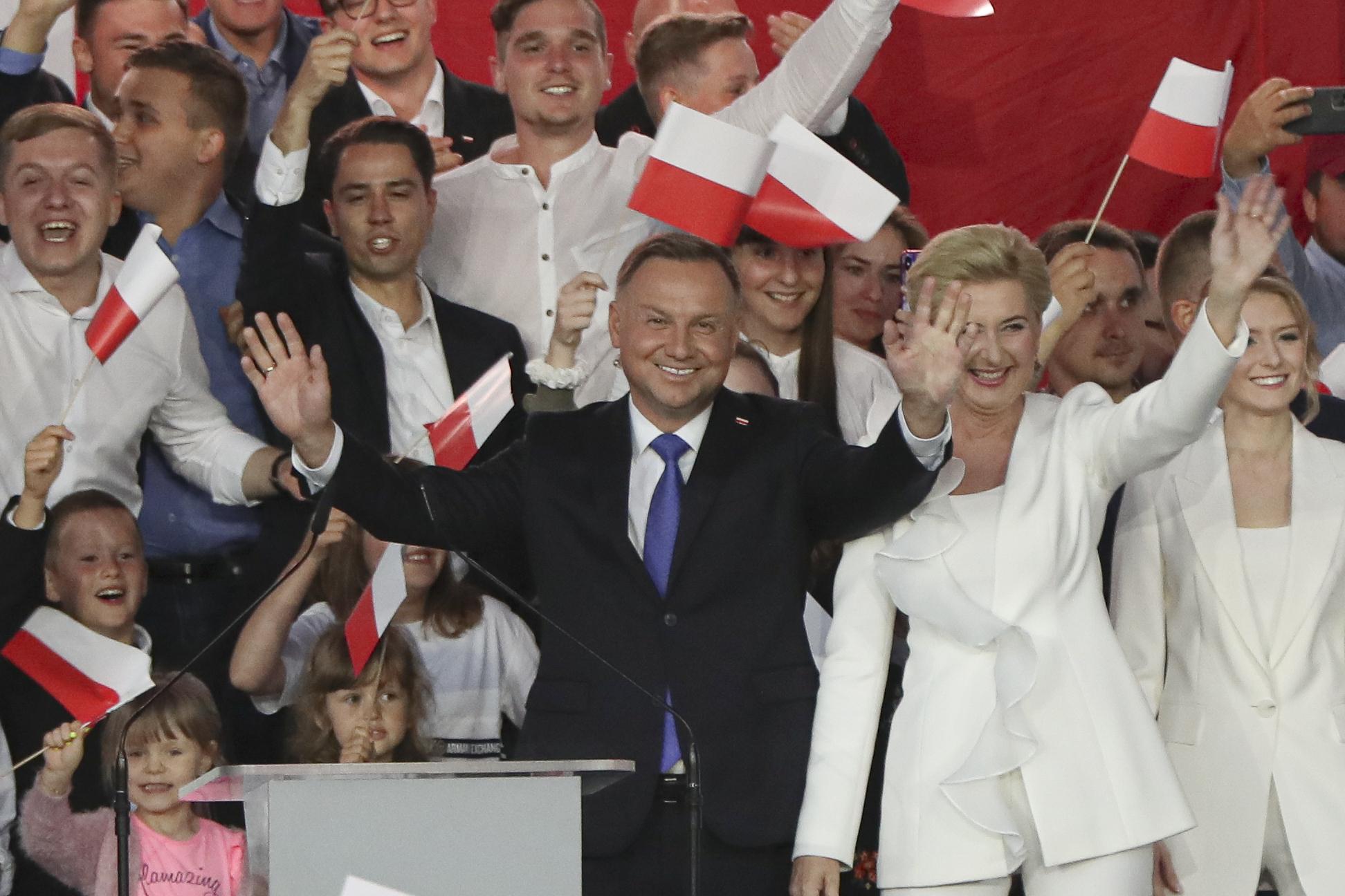 Andrzej Duda, Agata Kornhauser-Duda